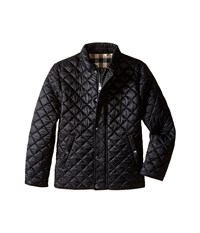 Burberry Luke Diamond Quilted Jacket Little Kids Big Kids Black Men's Coat