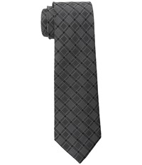 Dkny Grid Black Ties