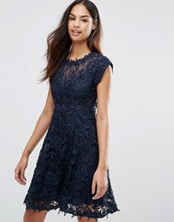 Y.A.S Molin Victorian Lace Dress Night Sky Black
