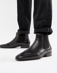 33fd93b91ba Chenadien Chelsea Boots In Black Leather