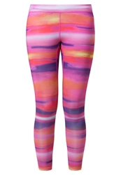 Roxy Fit For Waves Tights Migration Pink