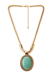 Forever 21 Bold Bohemian Pendant Necklace