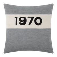 Bella Freud 1970 Cushion Marl Grey