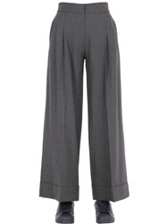 Space Style Concept Cool Wool Blend Palazzo Pants