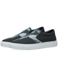 Marcelo Burlon Wings Slip On Sneaker Black