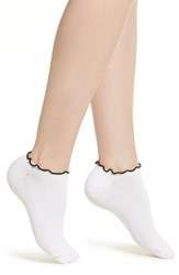 Richer Poorer Sugar Ankle Socks White Black