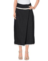 Limi Feu Skirts 3 4 Length Skirts Women Steel Grey