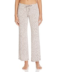 Pj Salvage Coco Chic Leopard Pants Natural