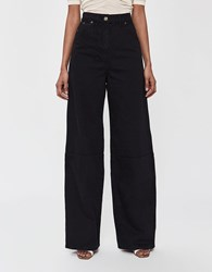 Jacquemus Prago Denim Pant In Navy