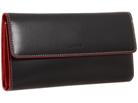 Lodis Audrey Checkbook Clutch Black Wallet Handbags