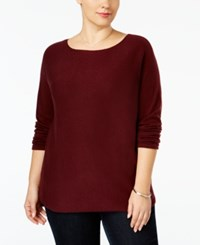 Inc International Concepts Plus Size Tunic Sweater Only At Macy's Port