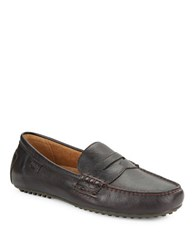 Polo Ralph Lauren Wes Leather Loafers Oxblood