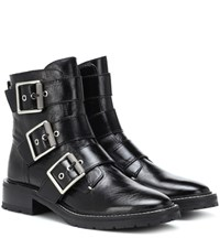 Rag And Bone Cannon Leather Ankle Boots Black