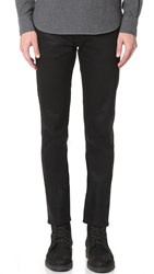 Baldwin Denim The 76 Slim Selvedge Jeans Black Raw