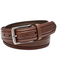 Fossil Men's Wyatt Leather Belt Brown