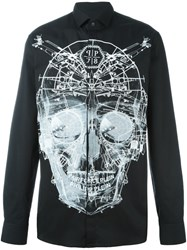 Philipp Plein 'Skull' Shirt Black