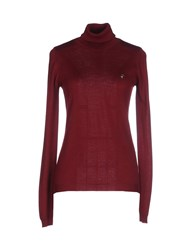 Armani Jeans Knitwear Turtlenecks Women Deep Purple