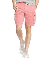 Polo Ralph Lauren Relaxed Fit Chino Cargo Shorts Adirondack Berry