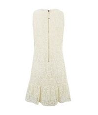 Juicy Couture Lace Flippy Dress White
