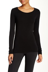 Solow Layering Long Sleeve Tee Black