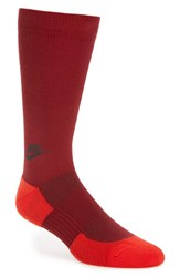 Nike Men's Crew Socks Team Red University Red