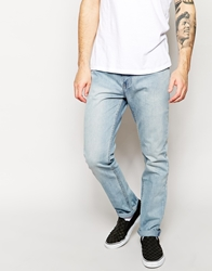 Zee Gee Why Jeans Starvin Marvin Slim Fit Stardust Bleach Wash