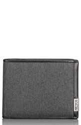 Tumi 'S Alpha Global Pass Case Wallet Grey Anthracite Black