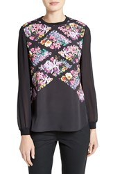 Ted Baker Women's London Hayles Lost Gardens Woven Top