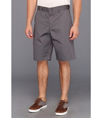 Rvca Americana Short Pavement Men's Shorts Gray