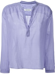 Mauro Grifoni Smock Blouse Blue