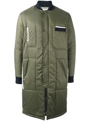 Henrik Vibskov 'World Wide' Coat Green