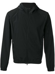 Aspesi Zipped Hooded Jacket Black