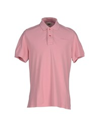 Kejo Topwear Polo Shirts Men Pink