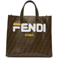 Brown 'Forever Fendi' Tote