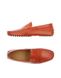 Tod's Footwear Moccasins Men Red