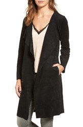 Velvet By Graham And Spencer Women's Belted Faux Suede Coat