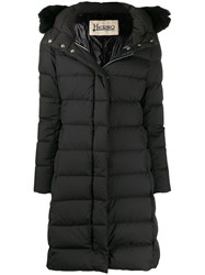 Herno Hooded Down Coat Black