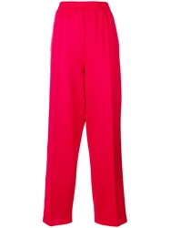 Faith Connexion Kappa Track Trousers Red