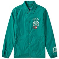 Polo Ralph Lauren Varsity Coach Jacket Green