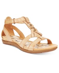 Bare Traps Ryen Flat Sandals Women's Shoes Tan