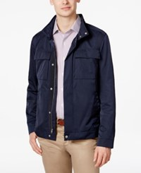 Brooks Brothers Red Fleece Men's Four Pocket Utility Jacket Navy