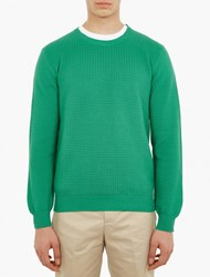 Melindagloss Green Fancy Knitted Sweater
