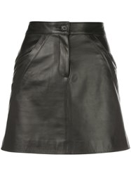 Nili Lotan Kade High Rise Mini Skirt 60
