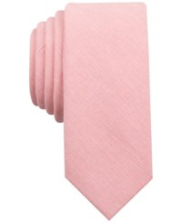 Penguin Men's Village Solid Slim Tie Rose