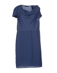 Ajay Short Dresses Dark Blue