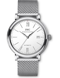 Iwc Iw356505 Portofino Stainless Steel Watch