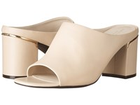 Cole Haan Laree Open Toe Mule Nude Leather Clog Mule Shoes Pink