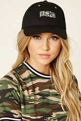 Forever 21 Bad Embroidered Cap