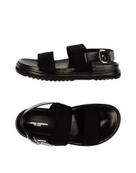 Cnc Costume National Costume National Homme Footwear Sandals Men Black