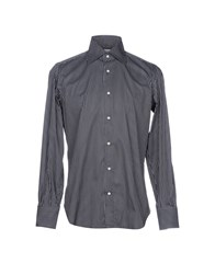 Mazzarelli Shirts Black